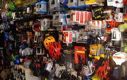 We sell Accessories, Parts and Tools