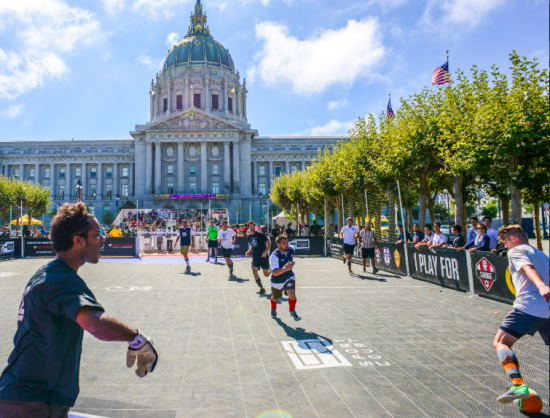 Street Soccer USA Civic Center Cup